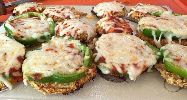 Eggplant Pizza Poppers